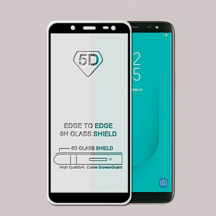 Kính cường lực full màn hình Galaxy J6 2018 Glass 5D phủ keo toàn màn hình