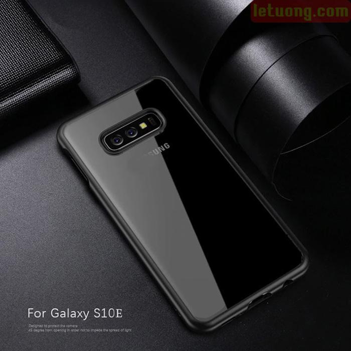Ốp lưng Galaxy S10E Ipaky Original Hybrid Trong suốt viền màu