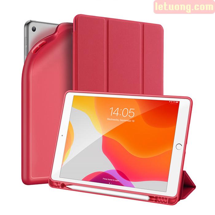 Bao da iPad 10.2 inch 2019 Dux Ducis Osom Siêu Mỏng - Mềm Mịn