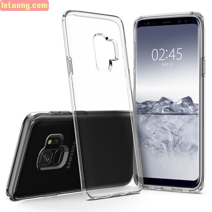 Ốp lưng Samsung Galaxy S9 Spigen Liquid Crystal trong suốt từ USA