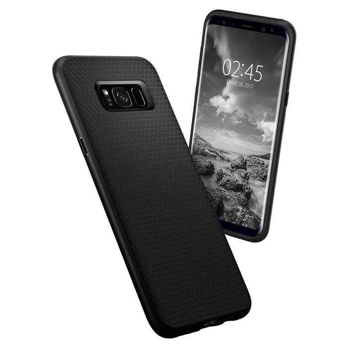Ốp lưng Galaxy S8 Plus Spigen Liquid Air Armor nhựa mềm cống sốc