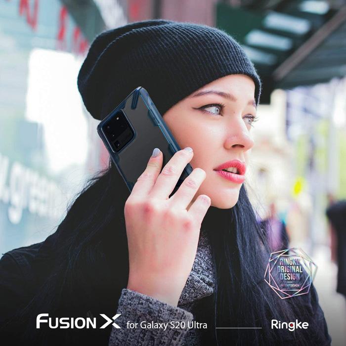 Ốp lưng Galaxy s20 Ultra Ringke Fusion X ( từ USA )