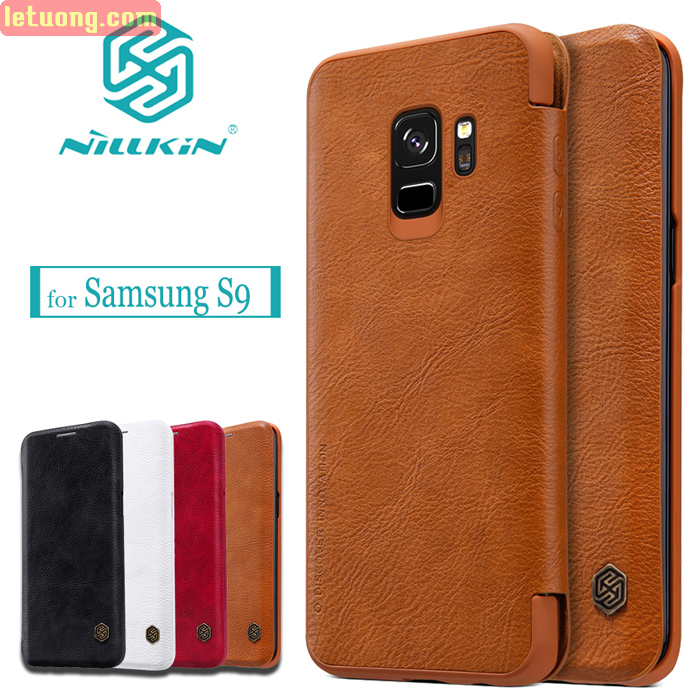 Bao da Samsung Galaxy S9 Nillkin Qin Leather sang trọng cổ điển