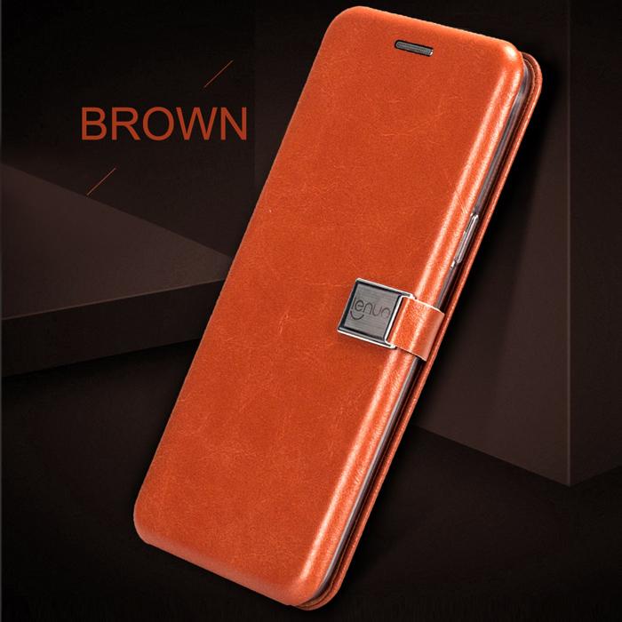 Bao da Samsung Galaxy S9 Lenuo Lebe Flip Case - tặng dán lưng Carbon