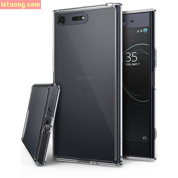 Ốp lưng Sony XZ Premium Ringke Fusion trong suốt chống sốc từ Mỹ