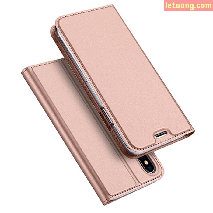 Bao da Iphone X ( Iphone 10 ) Dux Ducis Skin khung mềm