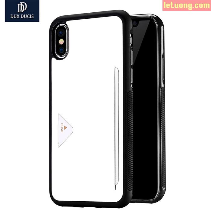 Ốp lưng Iphone X ( Iphone 10 ) Dux Ducis Pocard