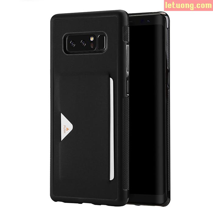 Ốp lưng Samsung Galaxy Note 8 Dux Ducis Pocard lưng da