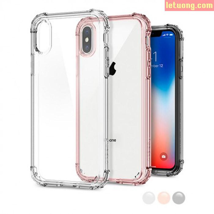 Ốp lưng iPhone Xs / X Spigen Crystal Shell chống sốc ( Hàng USA )