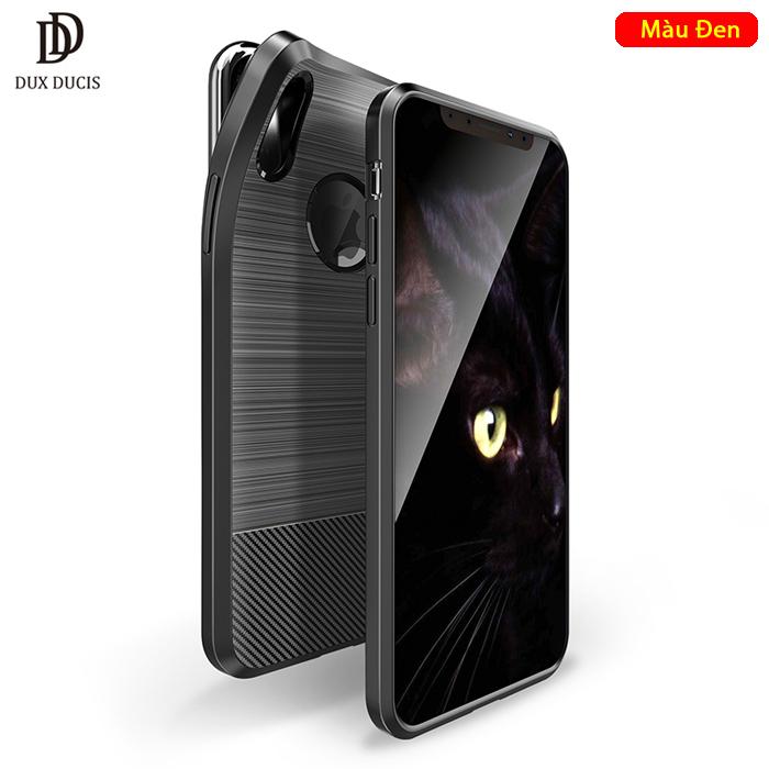 Ốp lưng iPhone X / Xs Dux Ducis Mojo Case nhựa mềm, chống sốc