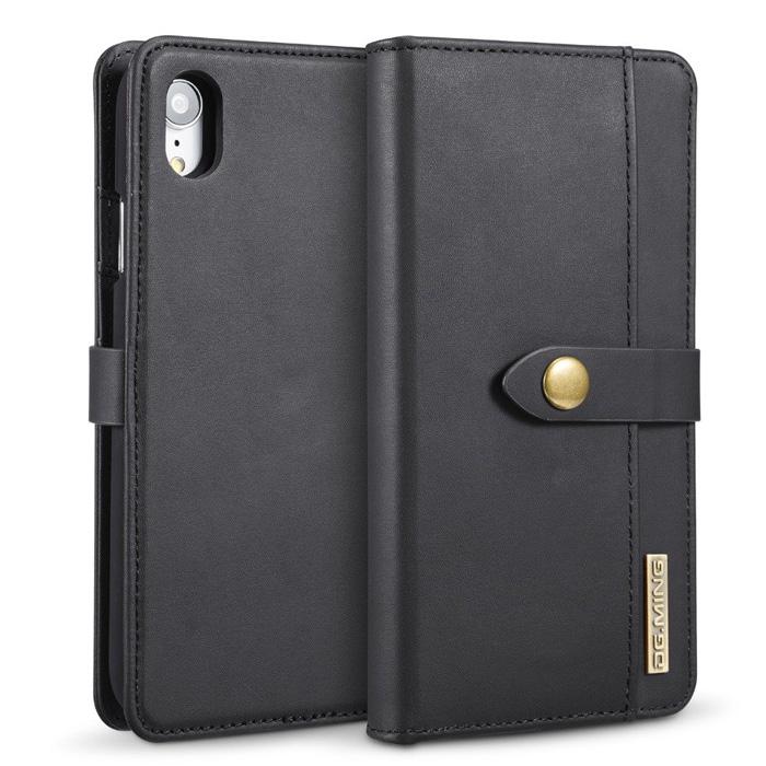 Bao da iPhone Xr DG.ming Genuine Leather 2 trong 1 cực đẹp