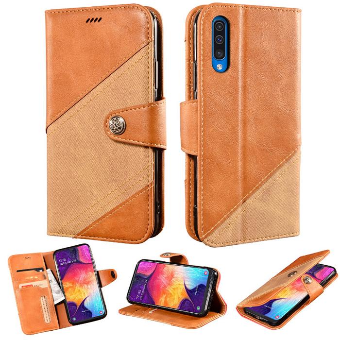Bao da Galaxy A30s / A50 LT Wallet Retro dạng ví - thời trang sang trọng