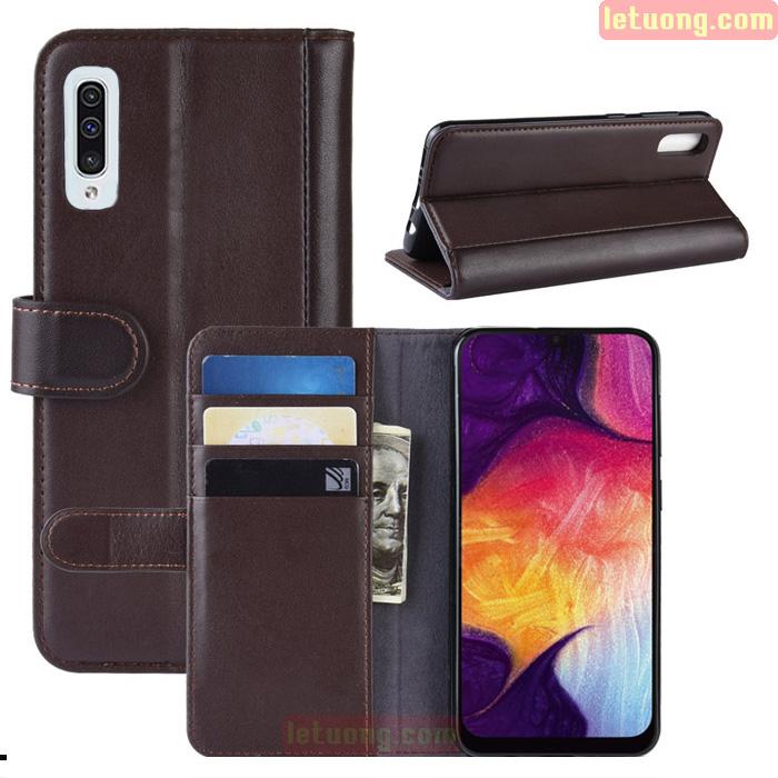 Bao da Galaxy A30s / A50 LT Wallet Leather dạng ví siêu bền - siêu êm
