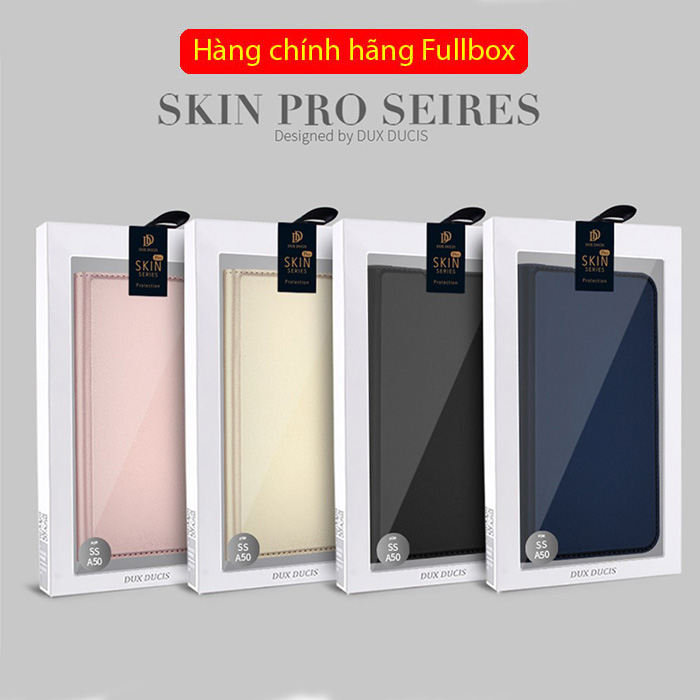 Bao da Galaxy A50s / A50 Dux Ducis Skin khung mềm - siêu mỏng - siêu mịn