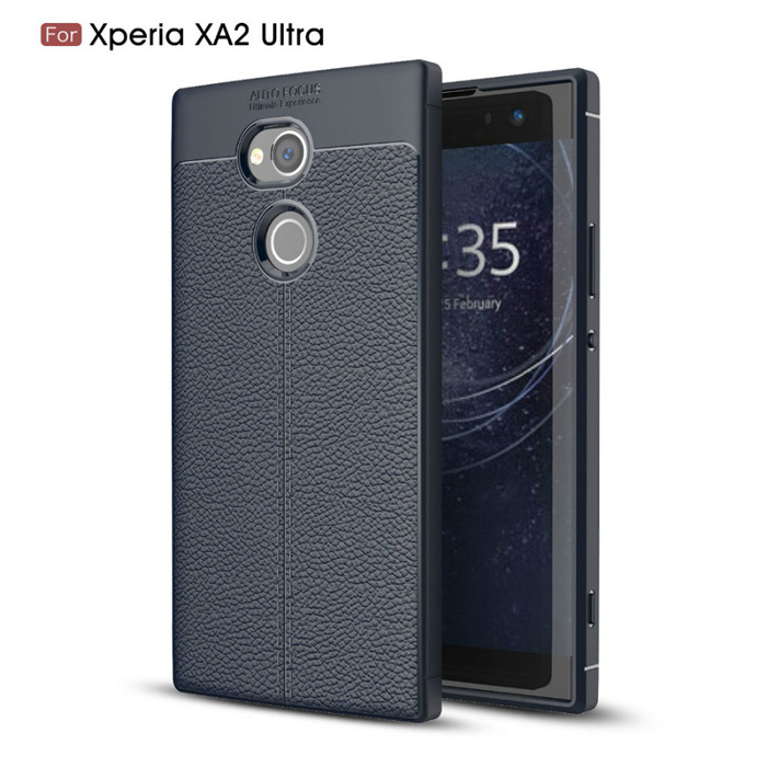 Ốp lưng Sony Xperia XA2 Ultra LT Leather Design Case vân da