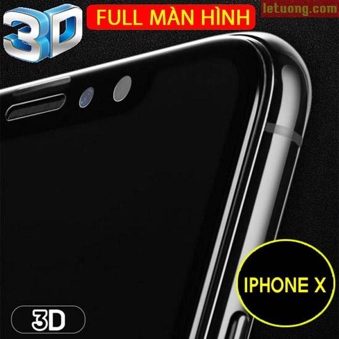 Miếng kính cường lực Iphone X Benks 3D X Pro+ Full màn hình