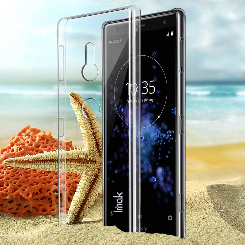 Ốp lưng Sony Xperia XZ2 Imak Nano trong suốt không ố vàng
