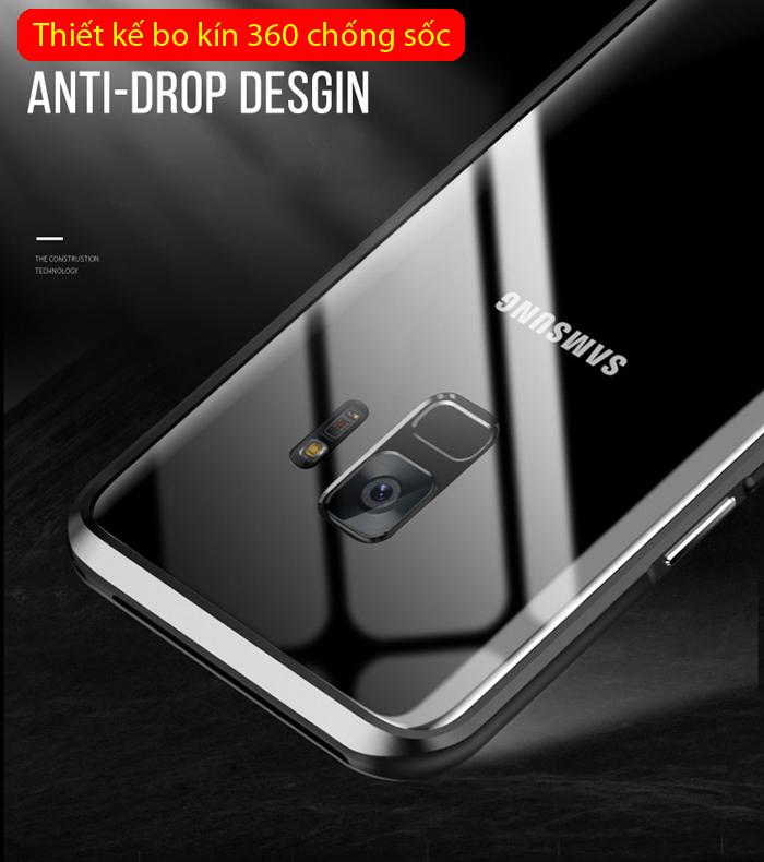 Ốp viền Galaxy S9 Luphie Bicolourable Blade Sword từ Germany tặng kèm dán lưng Carbon
