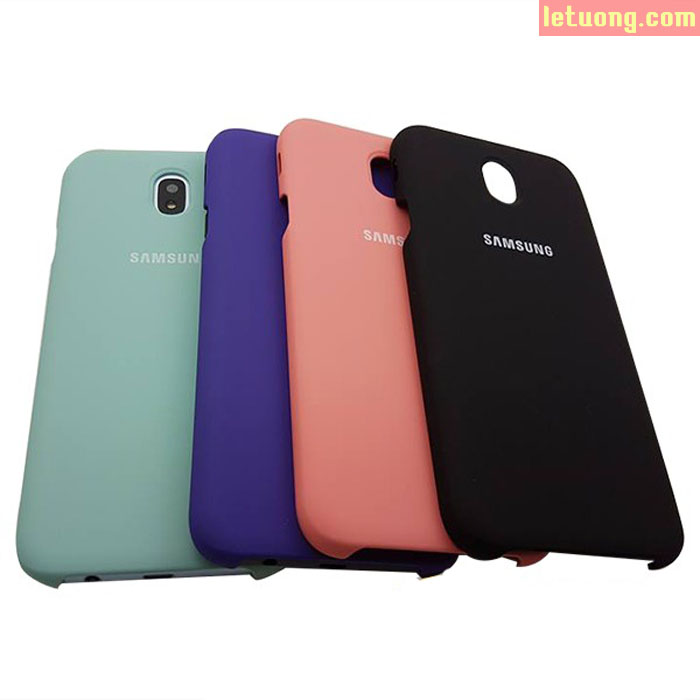 Ốp lưng Galaxy J7 Pro Samsung Silicone Cover chính hãng lưng mịn