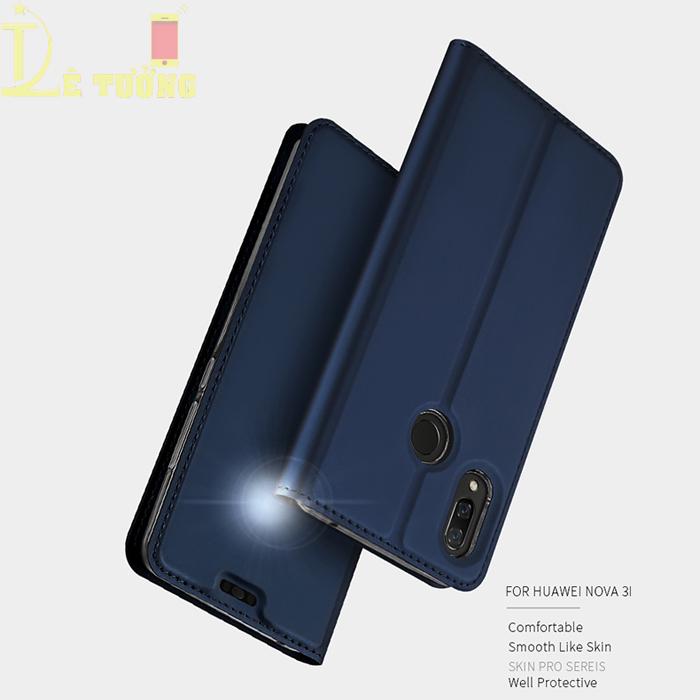 Bao da Huawei Nova 3i Dux Ducis Skin siêu mỏng - khung mềm - Siêu êm