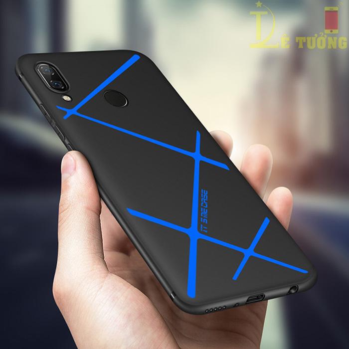 Ốp lưng Huawei Nova 3i LT LT TPU kẻ chéo siêu mỏng, siêu đẹp