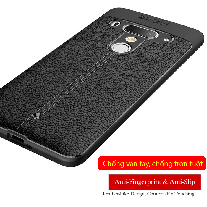Ốp lưng HTC U12 Plus LT Leather Design Case vân da - sang trọng