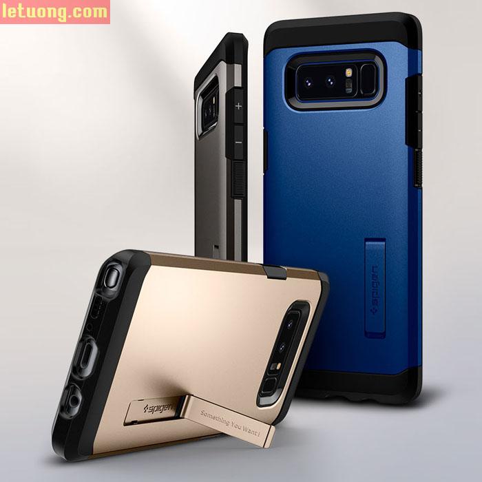 Ốp lưng Samsung Galaxy Note 8 Spigen Tough Armor chống va đập ( USA )