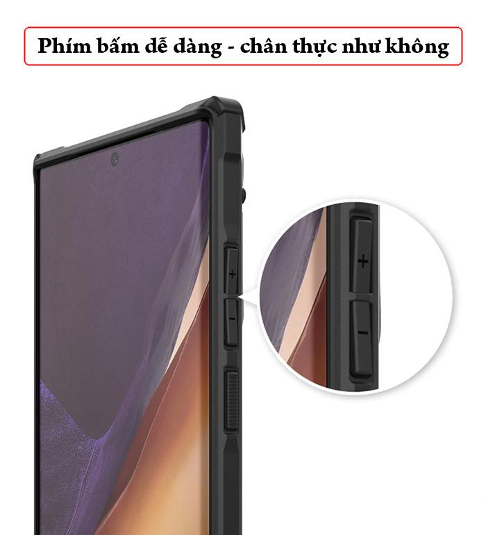 Ốp lưng Samsung Note 20 Ultra / 5G Ringke Fusion X Camo ( từ USA )