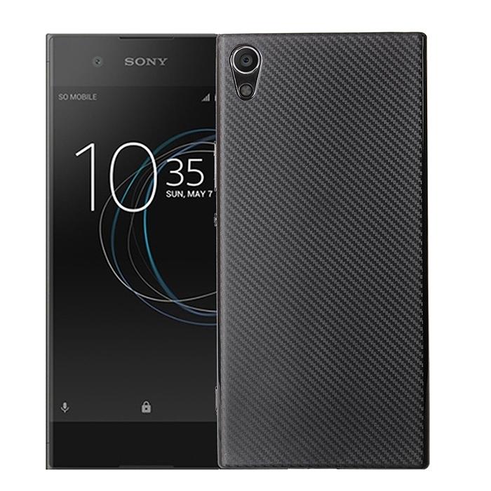 Ốp lưng Sony XA1 Ultra Carbon Filber TPU nhựa mềm vân carbon sang trọng