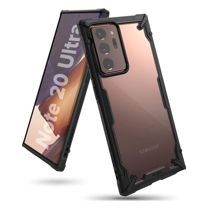 Ốp lưng Galaxy Note 20 Ultra / 5G Ringke Fusion X ( Hàng USA )