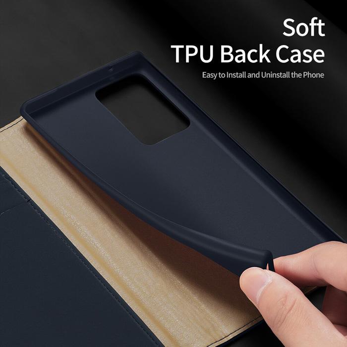 Bao da Samsung Note 20 Ultra / 5G Dux Ducis Wish Genuine Leather