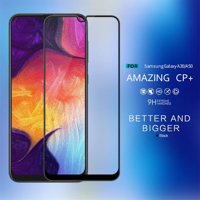 Kính cường lực Galaxy A30s Nillkin 3D CP+ full toàn màn hình