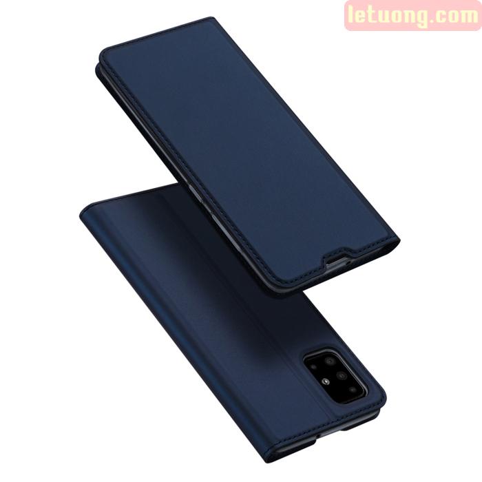 Bao da Galaxy A51 Dux Ducis Skin khung mềm - siêu mỏng - siêu mịn