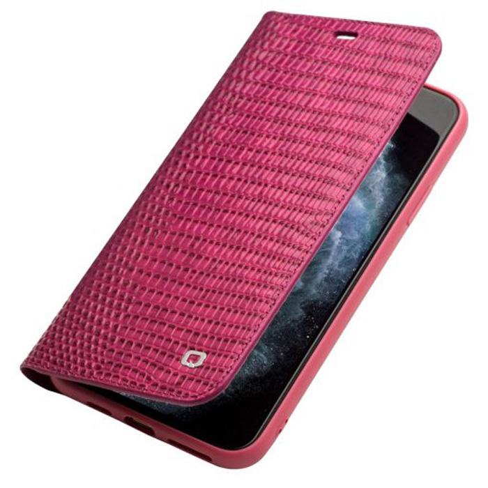 Bao da iPhone 12 / 12 Pro Qialino Crocodile Hanmade da thật