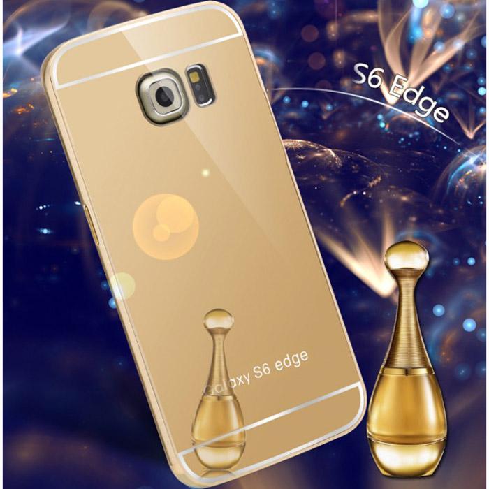 Ốp lưng Galaxy S6 Edge LT Metal 24K sang trọng chống sốc