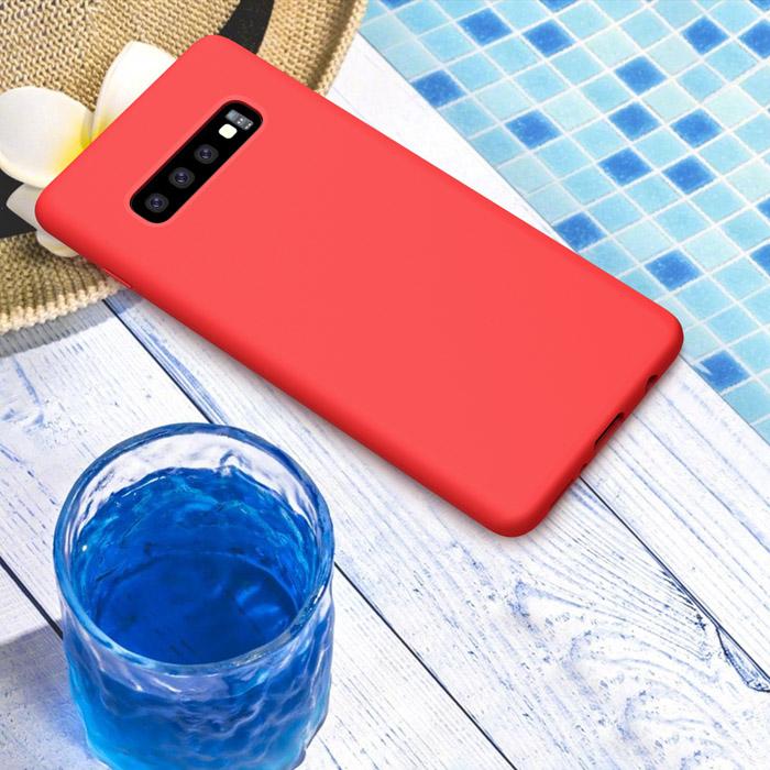 Ốp lưng Galaxy S10 Nillkin Flex Case Silicon lỏng mềm mịn