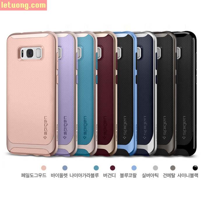 Ốp lưng Galaxy S8 Plus Spigen Neo Hybrid khung viền kép chắc chắn