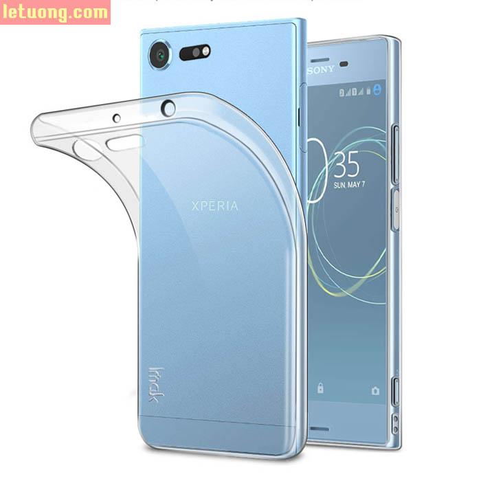 Ốp lưng Sony XZ Premium Imak Impact TPU nhựa dẻo lưng mịn mỏng gọn