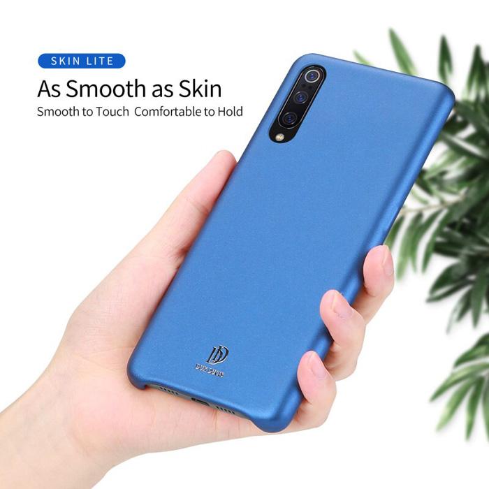 Ốp lưng Xiaomi Mi 9 Dux Ducis Skin Lite lưng da mềm mịn