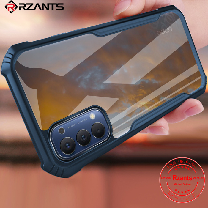 Ốp lưng Oppo Reno4 Rzants Beetle Armor trong suốt - chống sốc