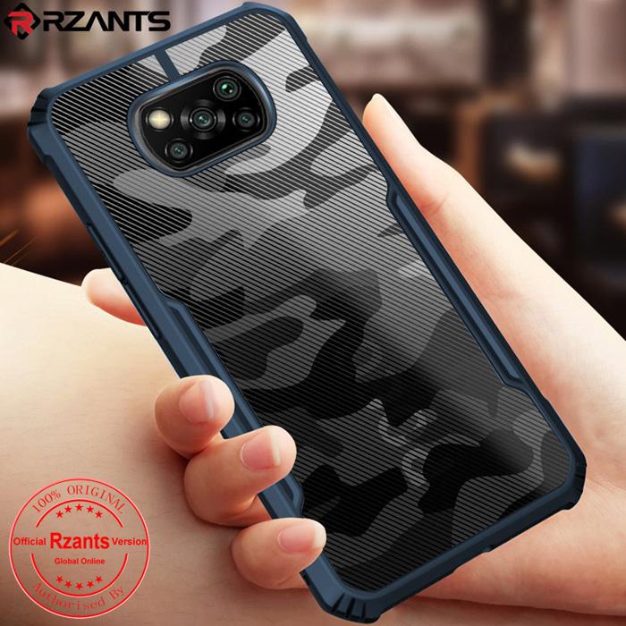 Ốp lưng Xiaomi Poco X3 NFC Rzants Armor Camo họa tiết quân đội