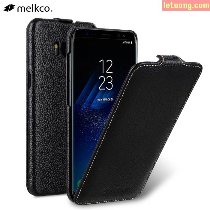 Bao da Galaxy S8 Melkco Jacka Premium da thật Hanmade  ( Germany )