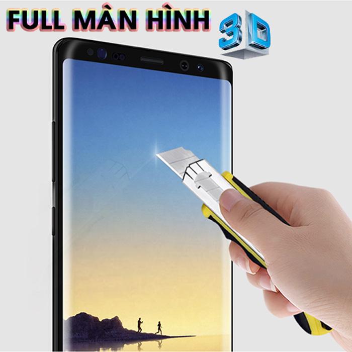 Kính cường lực full màn hình Galaxy Note 8 Nillkin 3D CP+ Max cong theo màn hình
