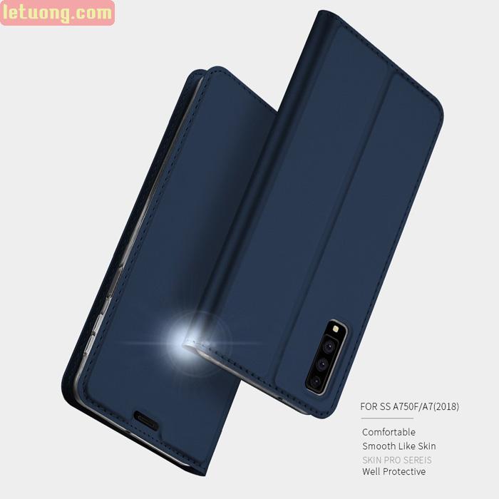 Bao da Galaxy A7 2018 Dux Ducis Skin khung mềm, siêu mỏng