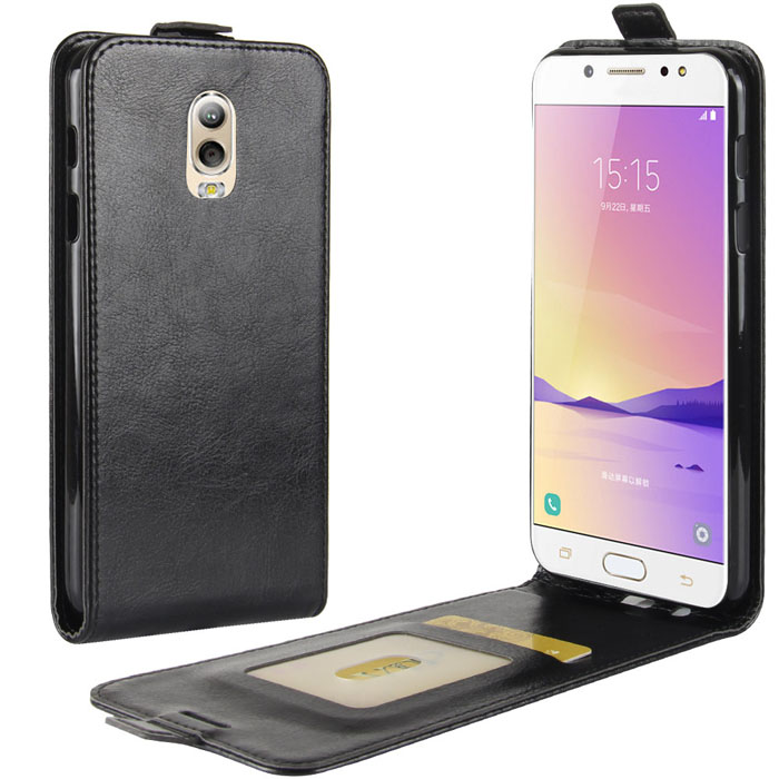 Bao da Galaxy J7 Plus ( J7+ ) LT Jacka Leather gập dọc, khung mềm