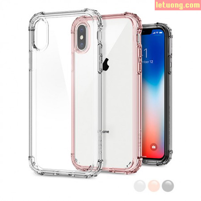 Ốp lưng iPhone X / Iphone Xs Spigen Crystal Shell chống sốc