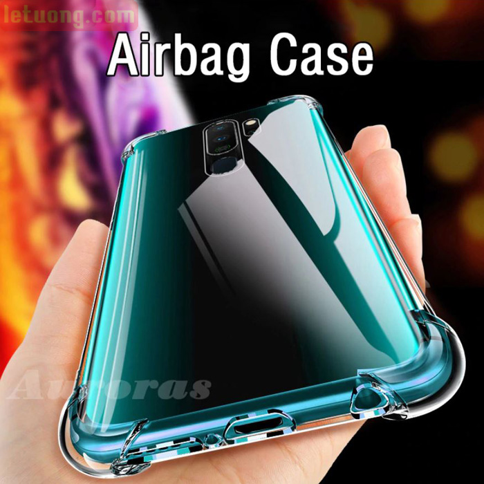 Ốp lưng Oppo A5 2020 LT Airbag Case trong suốt chống sốc