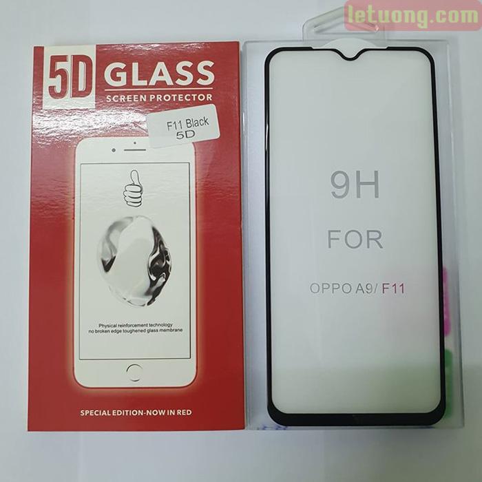 Kính cường lực Oppo F11 Glass Full Cover 5D Cong theo màn hình