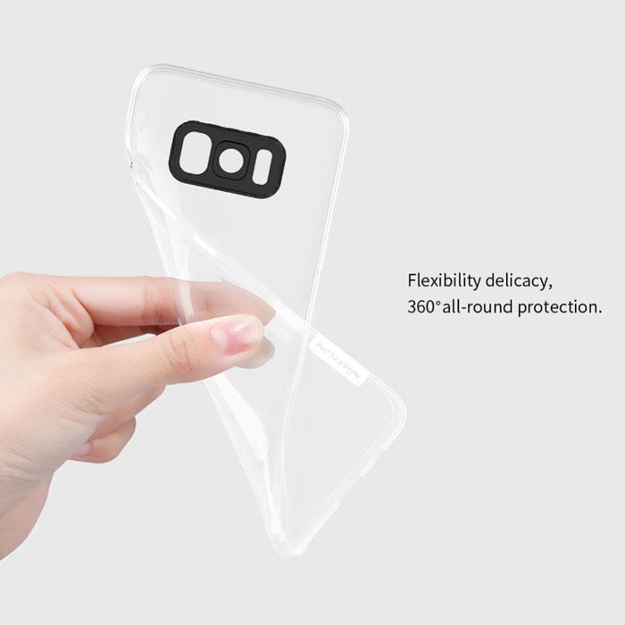 Ốp lưng Galaxy S8 Plus Nillkin Nature TPU trong suốt nhựa mềm