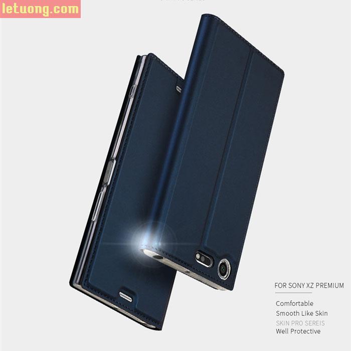 Bao da Sony XZ Premium Dux Ducis Skin khung mềm, siêu mỏng
